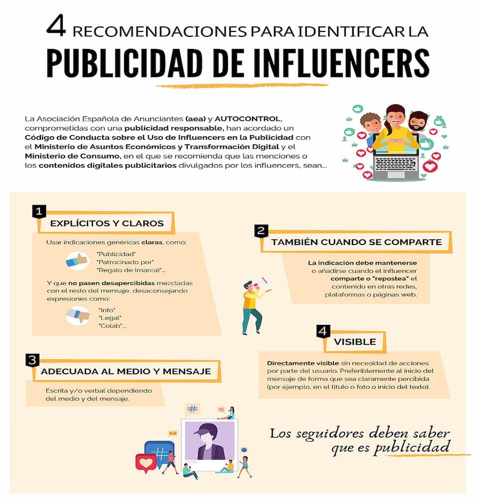 Las principales normas del código de publicidad con influencers