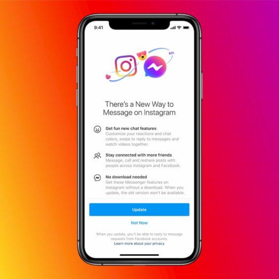 Instagram y Messenger