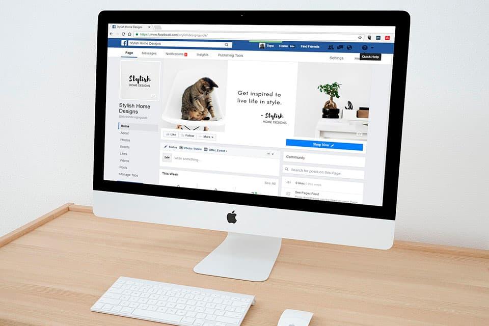 """Sección """"Nuestra historia"""" de Facebook"""