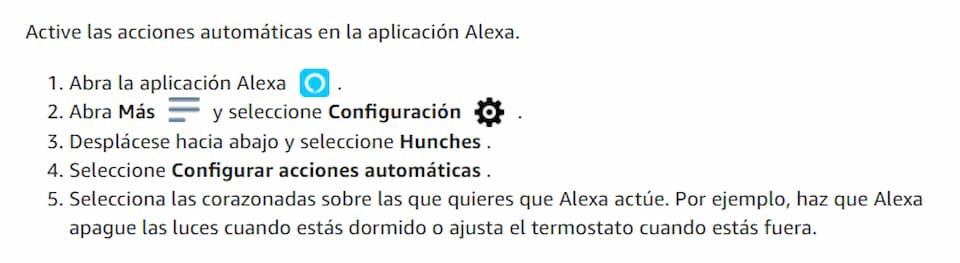 Alexa apagará las luces innecesarias sin que se lo pidas