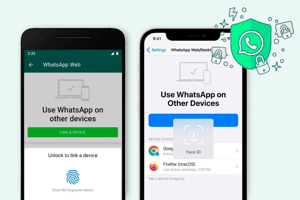 WhatsApp pedirá autenticación biométrica