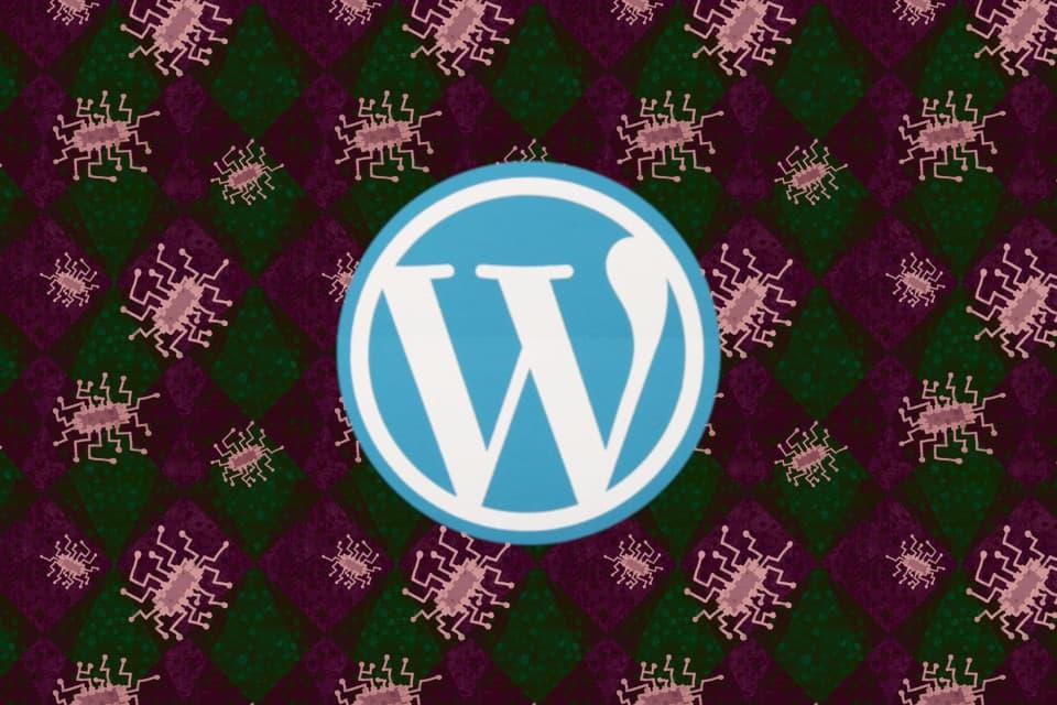 grafica malware Wordpress