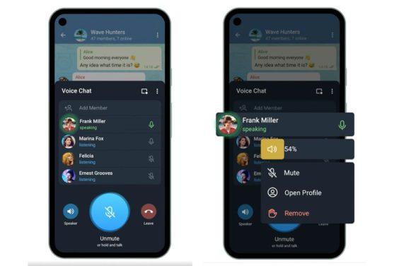 Actualización de Telegram