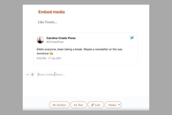 Cómo funcionan las newsletters de twitter
