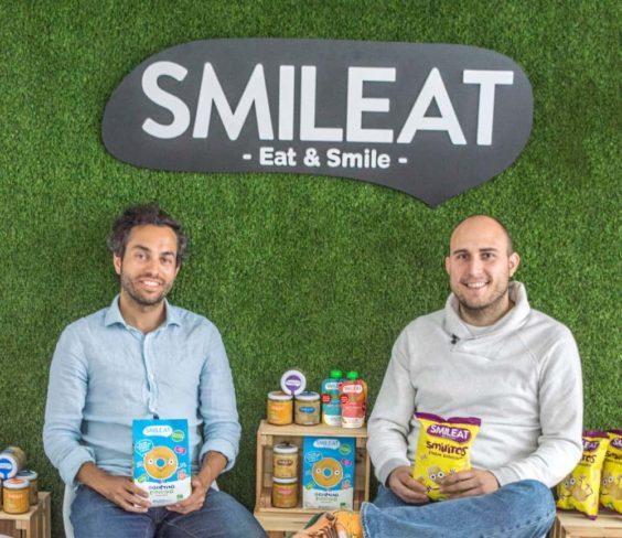 Alberto JIménez y Javier Quintana, cofundadores y CEOs de Smileat