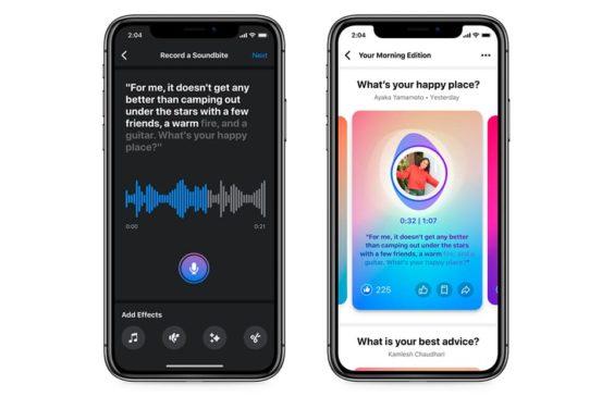 Las nuevas herramientas de audio de Facebook