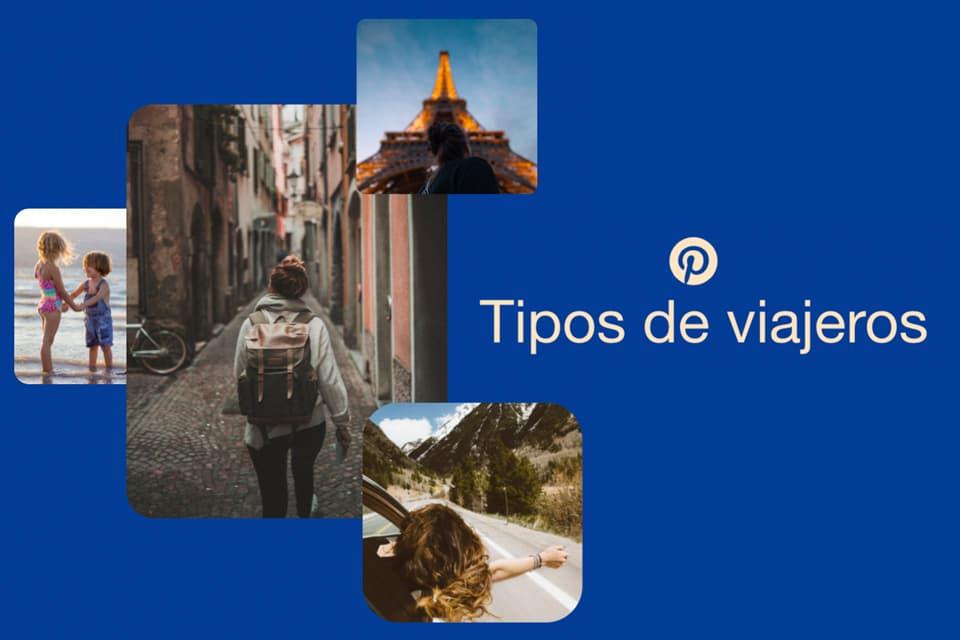 Tipos de viajeros según búsquedas en Pinterest