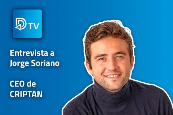 Jorge Soriano, CEO de Criptan