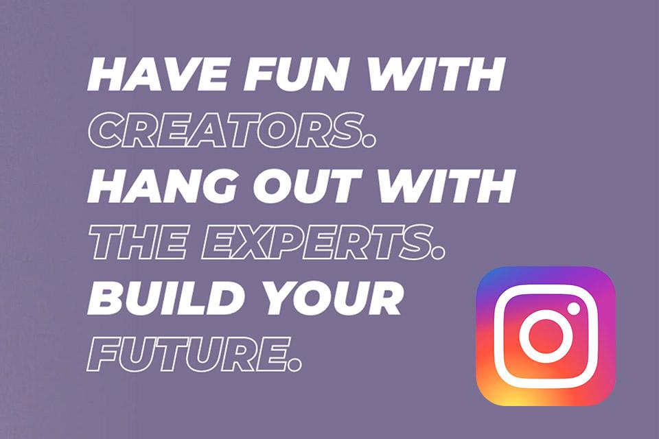 Instagram anuncia la iniciativa Creator Week, destinada a los creadores de contenido que quieran construir su futuro profesional en las plataformas de Facebook