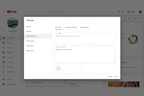 Proceso mejorado de carga en YouTube