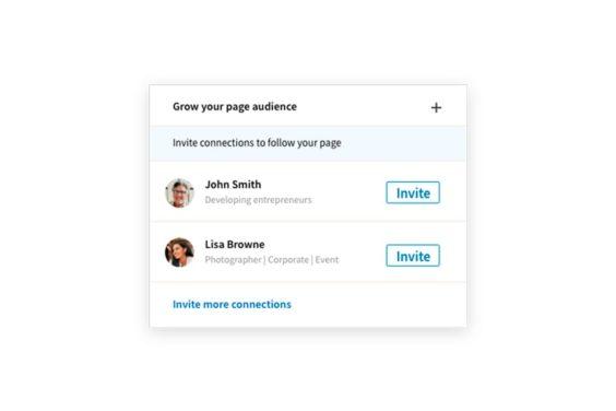 Aumentar los seguidores en tu página de empresa de LinkedIn