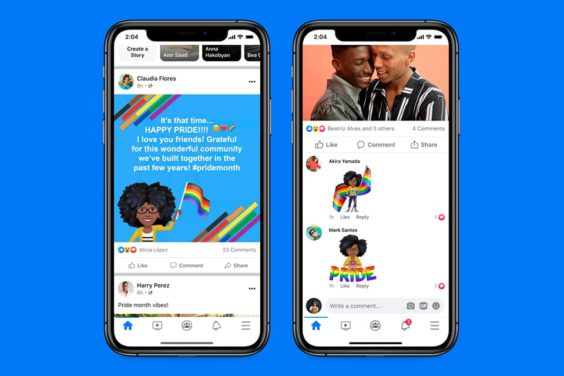 Facebook en el mes del Orgullo