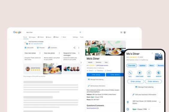 Google añade nuevas opciones para los perfiles comerciales