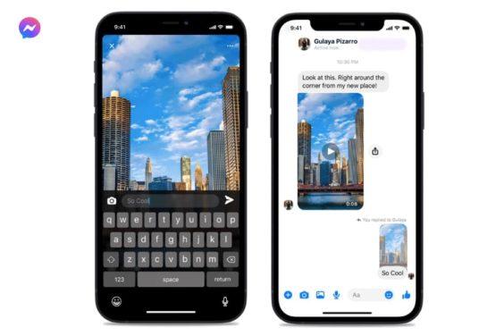 Nuevas respuestas rápidas en Messenger