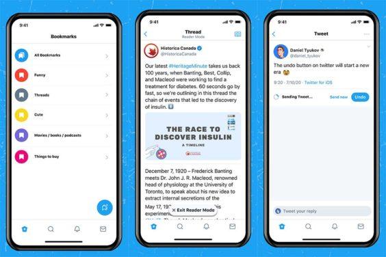 Twitter Blue Canadá y Australia