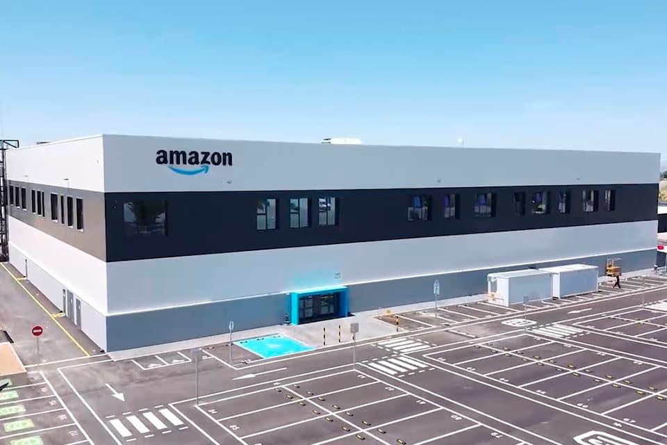 Base logística de Amazon en España