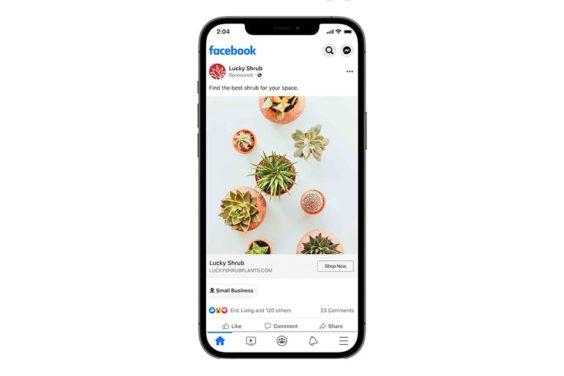Descubrimiento de productos y negocios en Facebook