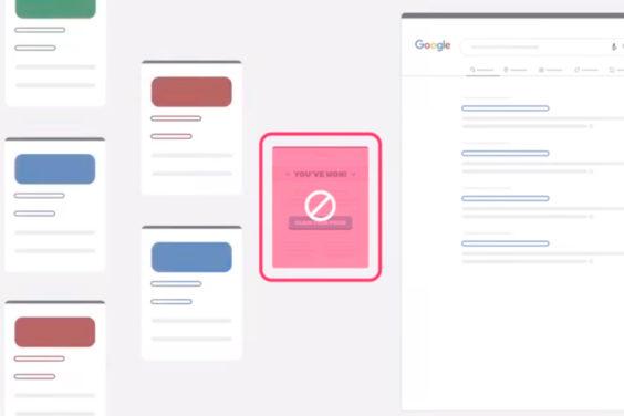 Google bloquea el spam para que no salga en sus búsquedas