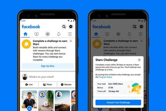 Nuevas bonificaciones en Facebook para creadores