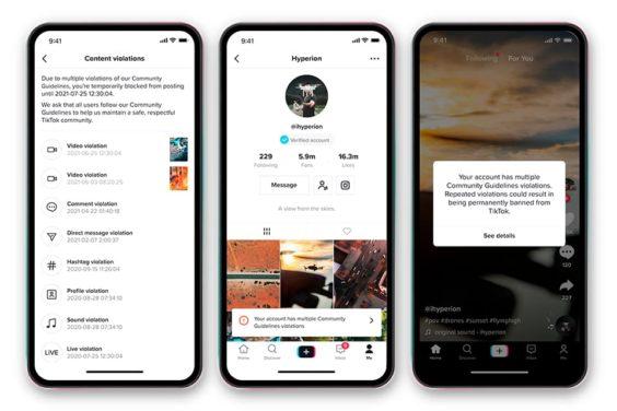 TikTok comenzará a automatizar la eliminación de contenido