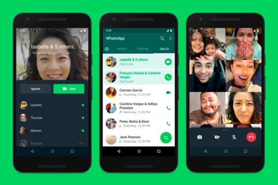 WhatsApp te permitirá unirte a videollamadas grupales ya empezadas