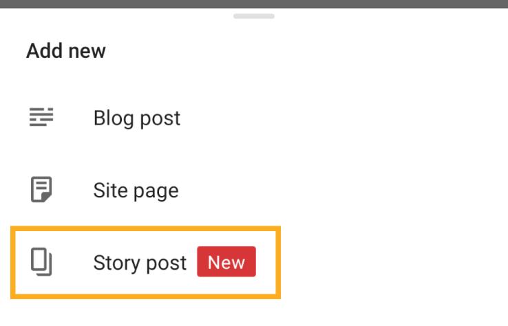 story post