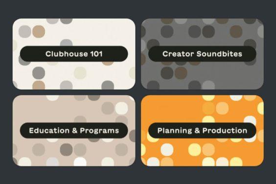 Clubhouse crea un nuevo centro de recursos para los usuarios