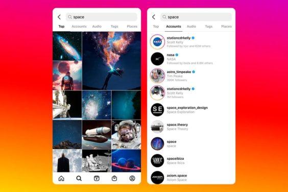 El futuro de la búsqueda en Instagram