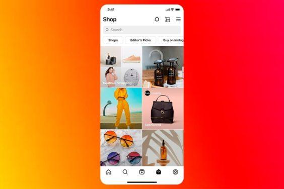 Los anuncios de la pestaña Tienda de Instagram, ya disponibles