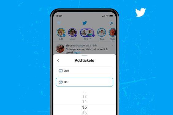 Ticketed Spaces como vía de financiación en Twitter
