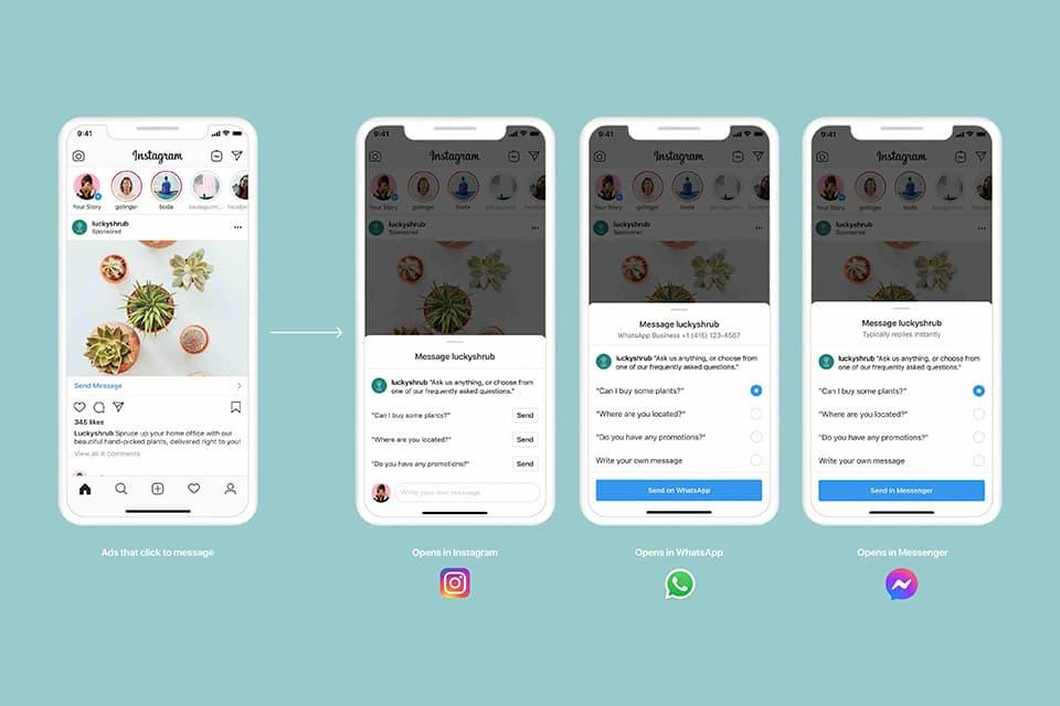 Facebook lanza nuevas herramientas para contactar con empresas