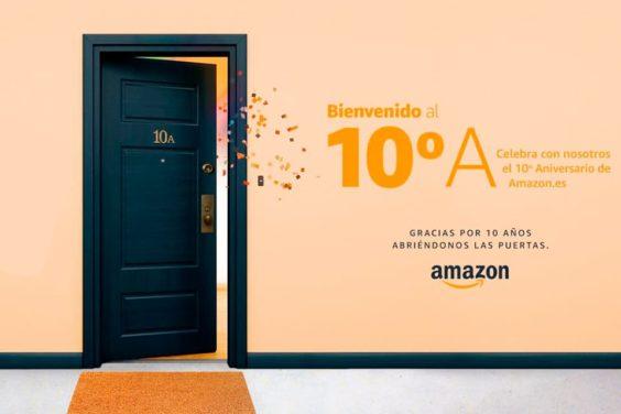 Amazon celebra su décimo aniversario en España con un evento online