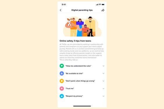 Consejos de usuarios adolescentes de TikTok para sus padres