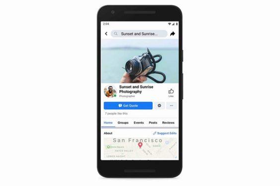 Nuevas herramientas de Facebook para negocios