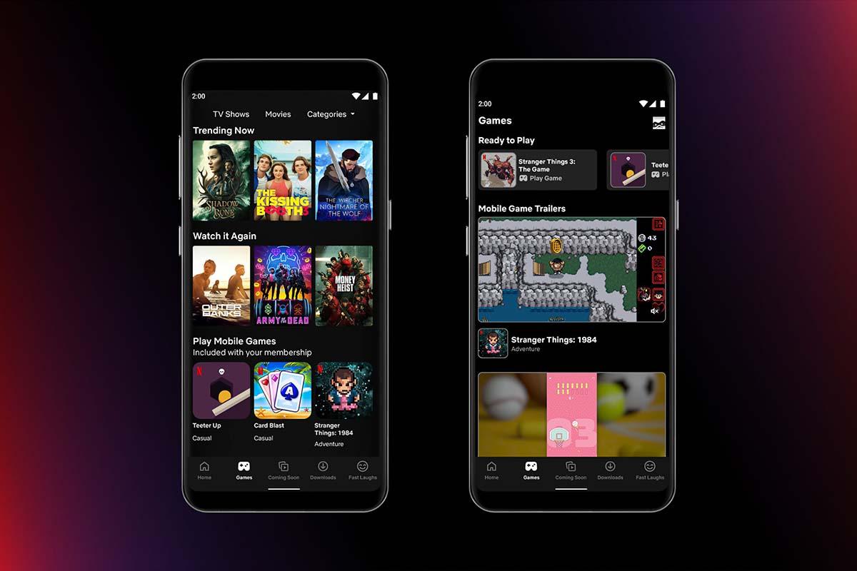 Netflix ha lanzado sus primeros videojuegos para móviles en España e Italia, en exclusiva para los suscriptores del servicio de streaming que usen la app de Android.