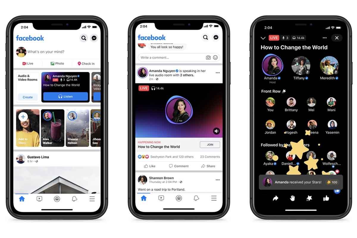 Facebook ha lanzado un nuevo hub de 'Audio' en su aplicación móvil en los Estados Unidos, donde aglutina todas las funciones de audio de la plataforma