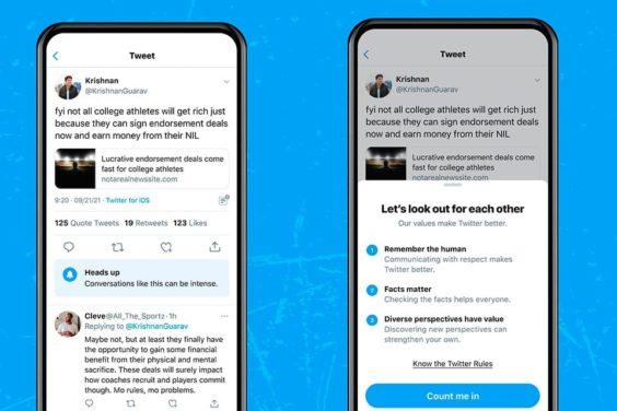 Twitter te avisará antes de que entres en una conversación conflictiva