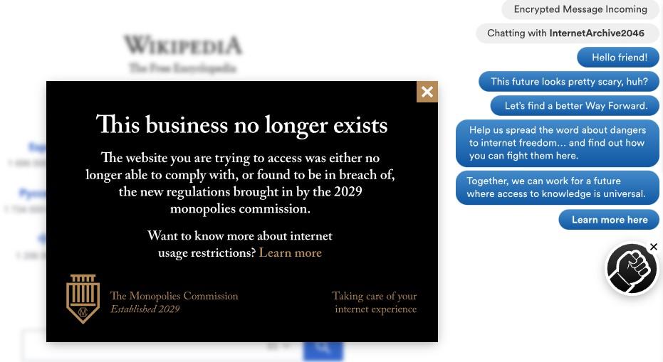 Wikipedia Wayforward Machine
